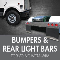 Bumpers for Volvo WCM-WIM