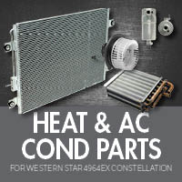 Heat & Air Conditioner Parts for Western Star 4964EX Constellation