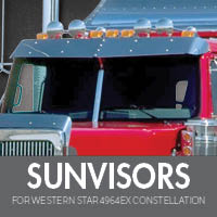 Sun Visors for WS 4964EX Constellation