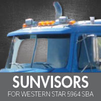 Sun Visors for WS 5964 SBA