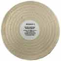 Zephyr Chrome Polishing Cotton Muslin Buffing Pad 50 Ply