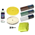 Zephyr Buffing Kit For Aluminum And Stainless Steel - 8 Piece